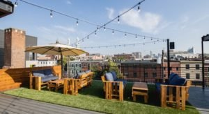 This Brand New 5,000 Square Foot Rooftop Patio In Kentucky Is Downright Dazzling