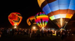 This Magical Hot Air Balloon Glow In Nevada Will Light Up Your Night