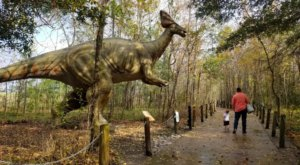 Walk With The Dinosaurs At This Prehistoric Park Near New Orleans