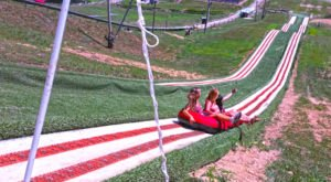 The Downhill Tubing Adventure In North Carolina That's Unlike Any Other