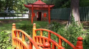 Few People Know There's A Peaceful Japanese Tea Garden Hiding Right Here In South Carolina