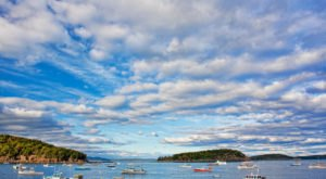 The Beautiful Maine Town That's Surrounded By Water On 3 Sides