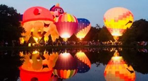 This Magical Hot Air Balloon Glow In Illinois Will Light Up Your Summer