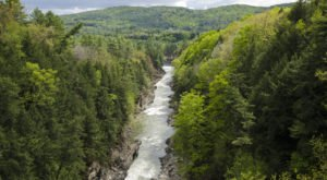 The Deep Green Gorge In Vermont That Feels Like Something Straight Out Of A Fairy Tale