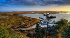 This Seaside Marsh In Massachusetts Is An Otherworldly Hiking Spot