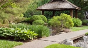 Few People Know There's A Peaceful Japanese Tea Garden Hiding Right Here In Indiana