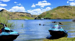This Secluded Reservoir In Idaho Might Just Be Your New Favorite Swimming Spot