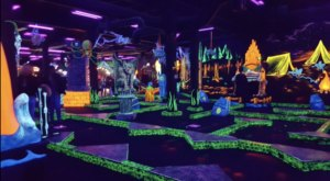 This Glow-In-The-Dark Golf Course In Northern California Is Oodles Of Fun For The Whole Family