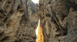 This Slot Canyon Hike In Nevada Will Make You Feel Like You've Been Transported To Another World
