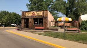 The Tastiest Fudge And Ice Cream In North Dakota Is At This Wild West Depot