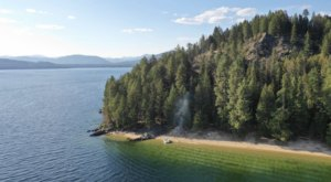 This Island Campsite In Idaho Is The Best Place To Surround Yourself With Natural Beauty