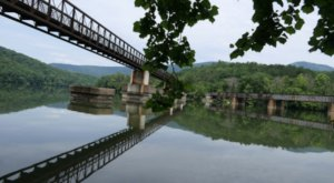 Cross This Scenic Footbridge In The Virginia Mountains For An Unforgettable Adventure