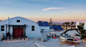 One Of The Most Unique AirBnb Rentals Will Make You Feel Like You're On The Moon