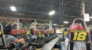 The Largest Indoor Go-Kart Track In Michigan Will Take You On An Unforgettable Ride