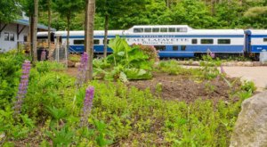 Step Back In Time With A Journey On This Incredible Dinner Train Through New Hampshire