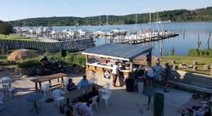 This Rustic Waterfront Restaurant In Michigan Serves Fantastic Fish And Chips
