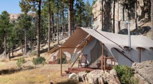 This South Dakota Glampground Was Just Named One Of The Best In America