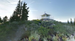You'll Love A Trip To This Idaho Fire Lookout Above The Clouds