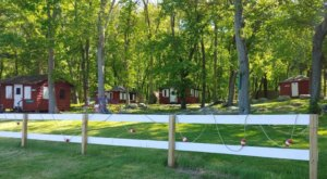 This Beautiful Camping Village In Rhode Island Will Be Your New Favorite Destination