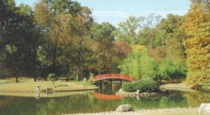 Few People Know There's A Peaceful Japanese Garden Hiding Right Here In Tennessee