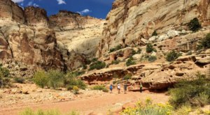 Take This Utah Trail To Travel The Same Spots As A Notorious Criminal From The Past