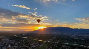 This Sunset Hot Air Balloon Ride Takes You 7,000 Feet Above The Arizona Desert