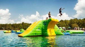 This Giant Inflatable Water Park In Georgia Proves There's Still A Kid In All Of Us