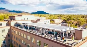 The Sunny Rooftop Restaurant In New Mexico With Sweeping Views