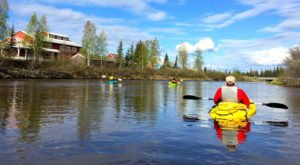 Paddling This Clear River In Alaska Will Make You Feel Like You're In The Amazon