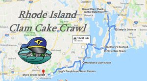 The Rhode Island Clam Cake Crawl Will Make Your Summer Complete