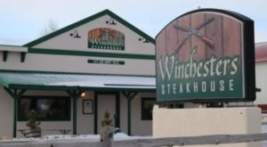You'll Want To Dine At The Rustic Wyoming Saloon That Serves Steaks As Big As Your Head
