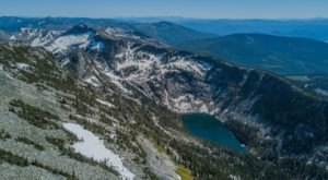 This Backcountry Hike In Idaho Leads You To A Stunning Alpine Lake View
