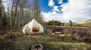 You Haven't Glamped Until You Have Spent The Night In One Of These 7 Colorado Yurts