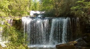 Take This Short Trail To An Amazing Triple Waterfall In South Carolina
