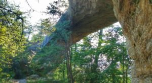 The Lesser Known Natural Bridge Hike In Kentucky That's Quick And Easy