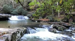 The Underrated Hiking Trail In Kentucky That Takes You Along A Magical Cascade Of Waterfalls