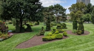 The Whimsical Topiary Garden In Ohio That Will Capture Your Imagination
