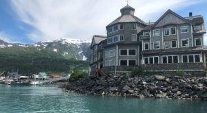 You Have To Travel Through A Mountain Tunnel To Get To This Stunning Inn On The Ocean In Alaska