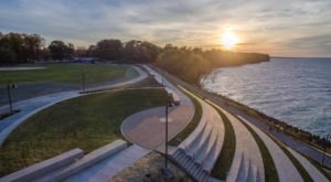 The One Park Near Cleveland That Was Designed For Watching Sunsets