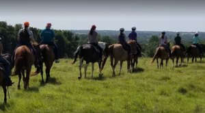 Take This 2-Hour Horseback Riding Adventure In Oklahoma For One Of The Best Trail Rides In The Country