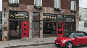 The Best Wood Fired Pizza In Oklahoma Is Hiding Behind These Red Doors