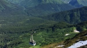 Take This Wondrous Tram Ride In Alaska To The Top Of The World