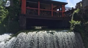 This Creekside Restaurant In Ohio Has Its Own Waterfall And It's Worthy Of Your Bucket List
