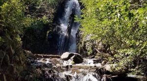 The Nevada Trail That Leads To A Waterfall Is Heaven On Earth