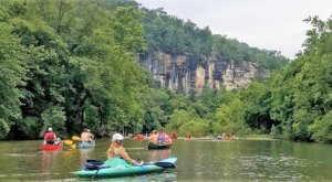 The Longest Float Trip In Arkansas Will Bring Your Summer Tubing Dreams To Life