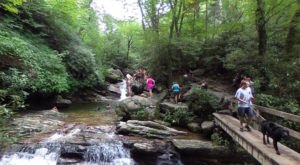 North Carolina's Most Refreshing Hike Will Lead You Straight To A Beautiful Swimming Hole