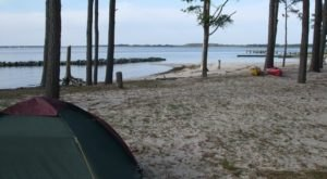 Camp Right On The Beach When You Stay At This Picturesque Virginia Campground