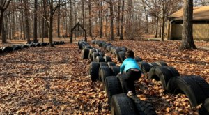 This Fun Tire Park In Maryland Will Remind You Of The Good Old Days