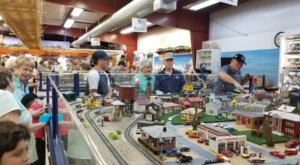 You'll Fall In Love With This Toy Train Barn Hiding In Arizona