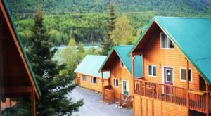 This Wonderous Fisherman's Lodge On The Banks Of A Glacier Fed River Is Picture Perfect